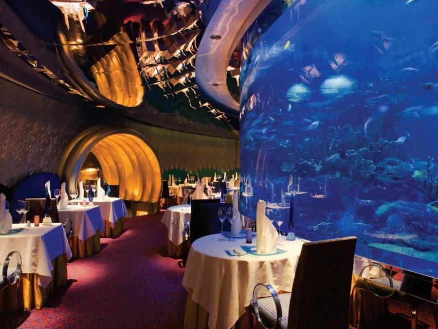 dubai hotel aquarium