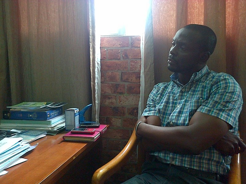 Debo listening to Prof Nubi