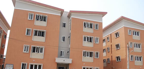 Lagos HOMS prototype building