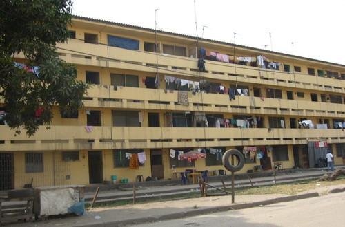 Erecting illegal structures in Festac