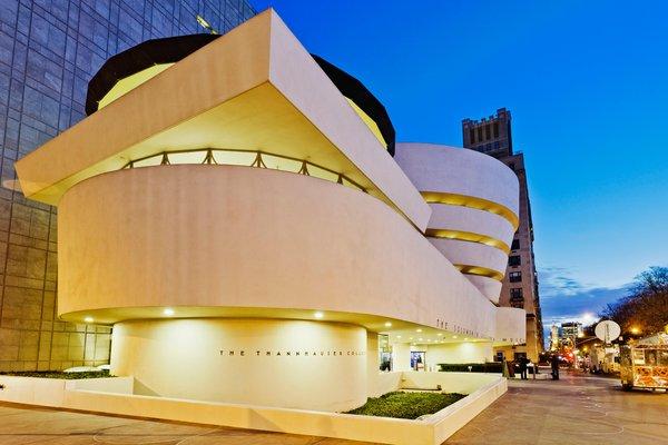 3.Solomon R. Guggenheim Museum in New York City