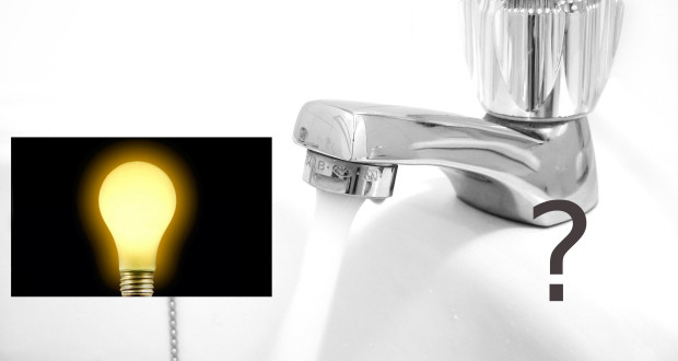 Power or water, which is more essential in a home?