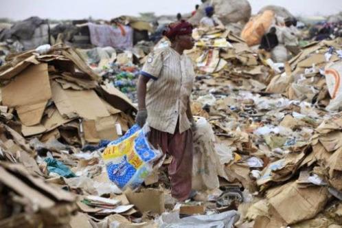Olusosun is Nigeria's most popular dumpsite