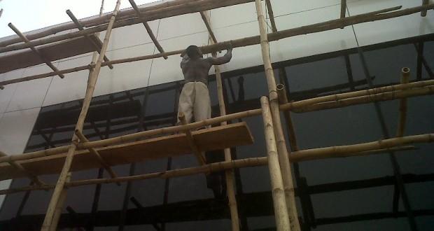 substandard building materials