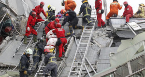 Baby Rescued After 30hours In Collapsed Building Following Taiwan Earthquake