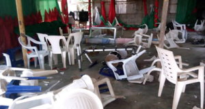 Angry Youths In Delta State Destroy Church Property