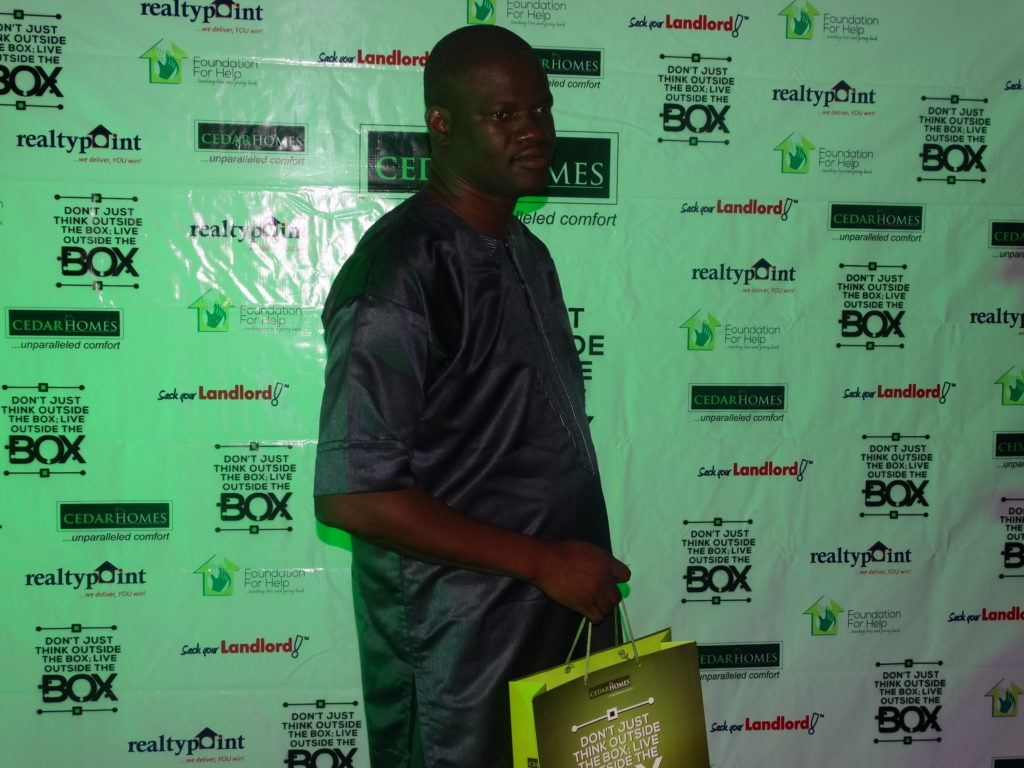 Mr Ayo of Ministry of Lands, Alausa was present