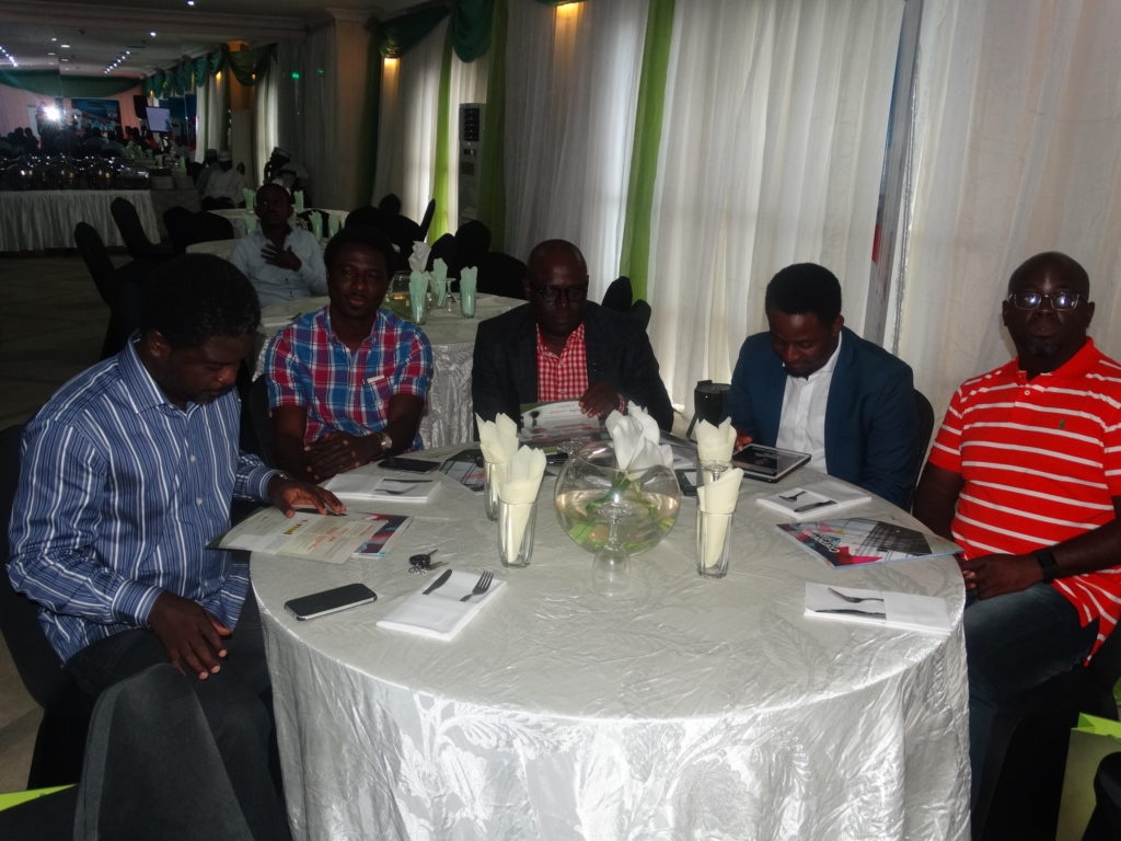 A cross section of invited guests