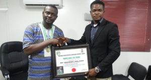 NANS Awards CEO of Realty Point LTD, Debo Adejana
