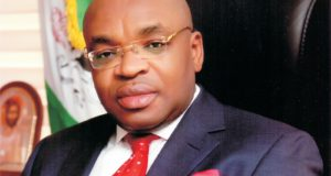 Gov Emmanuel inaugurates panel of enquiry on Uyo building collapse