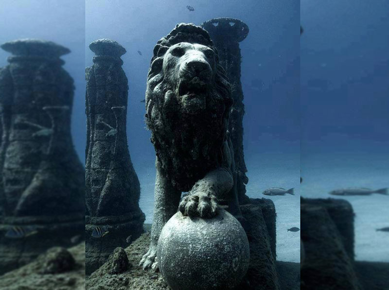 5 Mind-blowing Ancient Cities Found Underwater
