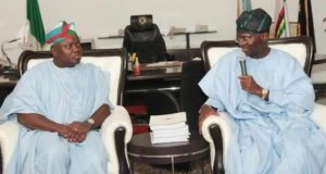 Babatunde and Fashola on Lagos Project
