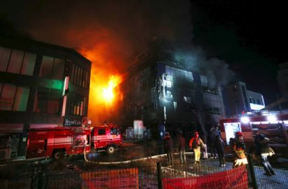 Tin-can Fire-property over 100 million lost