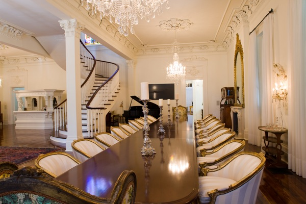Aliko Dangote's House Dining - Most Expensive Homes In Nigeria